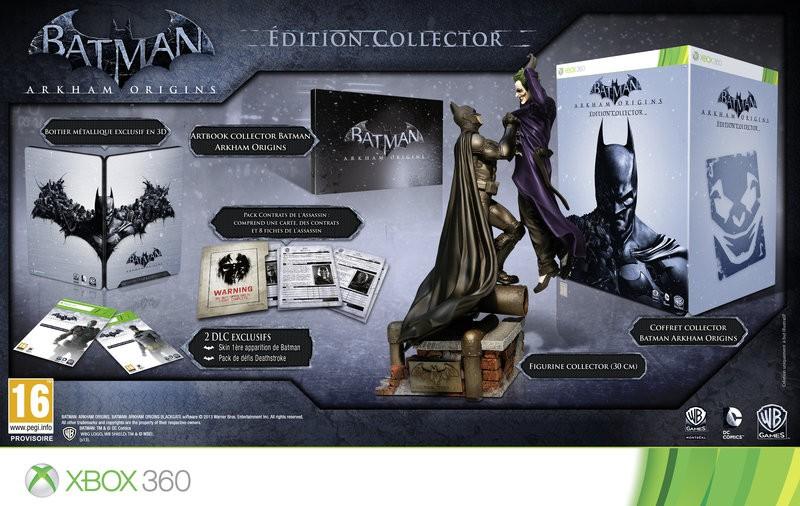 [ACTU] Batman : Arkham Origins, la version Collector dévoilée
