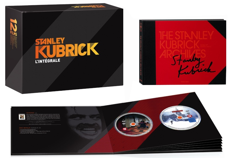 coffret stanley kubrick l 39 int grale sp ciale fnac dvdclassik cin ma et dvd. Black Bedroom Furniture Sets. Home Design Ideas