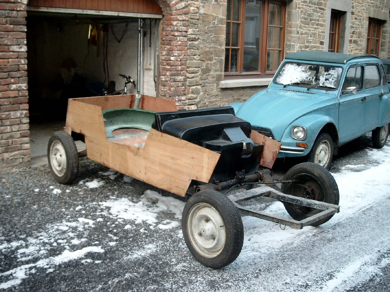citroen 2cv falcon kit car