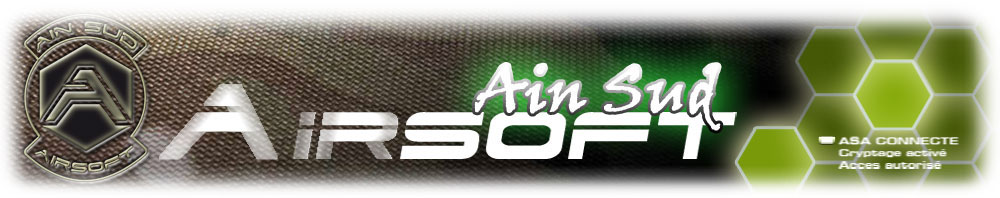 Ain Sud Airsoft - A.S.A - le forum de l'association