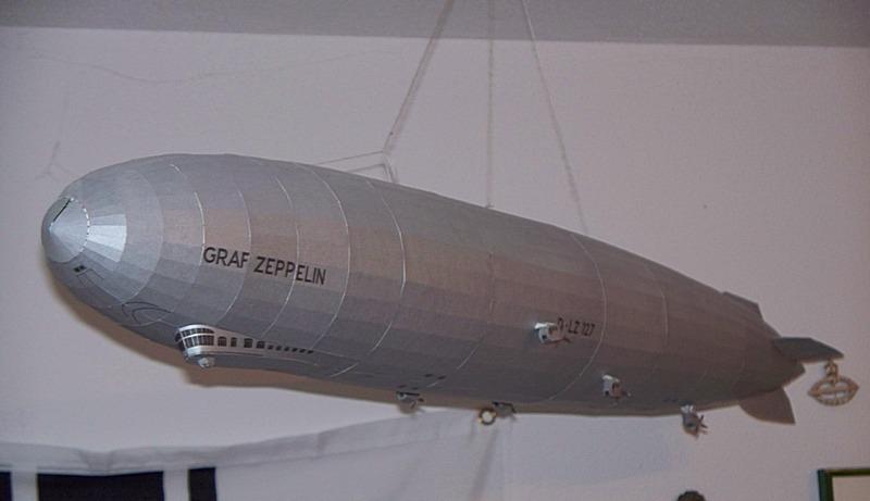 luftschiff graf zeppelin von schreiber 1 200. Black Bedroom Furniture Sets. Home Design Ideas