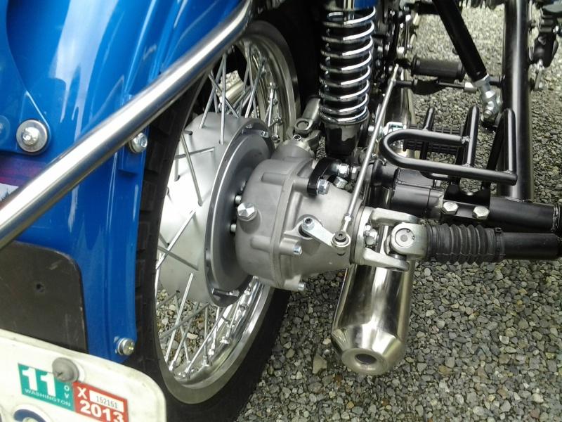 Привод на коляску мотоцикла урал