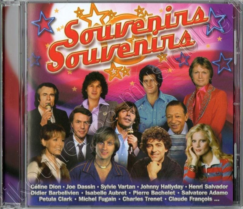 """Compile de chez Sony """"SOUVENIRS SOUVENIRS"""""""