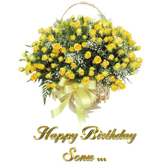 Birthday Cake Images With Name Sonal : HAPPY BIRTHDAY SONAL!! 3189351 Na Bole Tum Na Maine ...