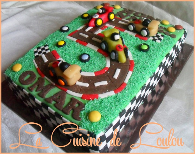 Gut bekannt Deco gateau circuit voiture – Home baking for you blog photo MK43