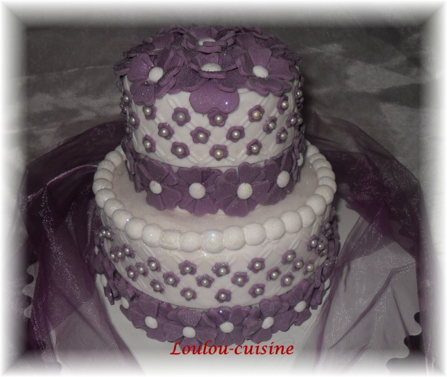 Recette Du G Ef Bf Bdteau Wedding Cake Am Ef Bf Bdricain