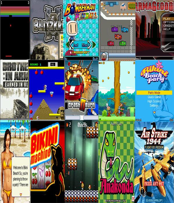 انفراد وحصريا باحدث اصدرات للالعاب جوال مع مكتبة العاب جوال جافا Mobile games librar