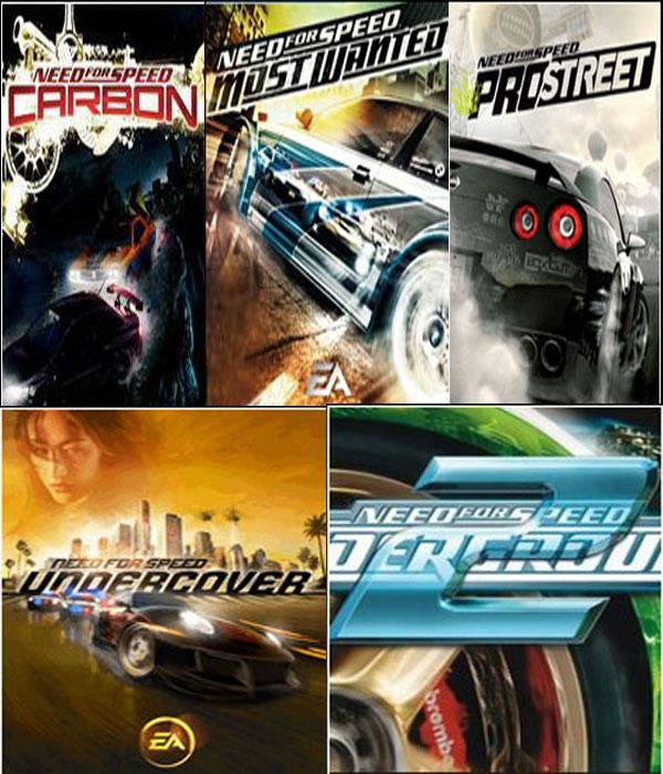 انفرداااااات وحصرياااات جميع إصدارات لعبة السباقات المذهلة Need for Speed لجميع المو