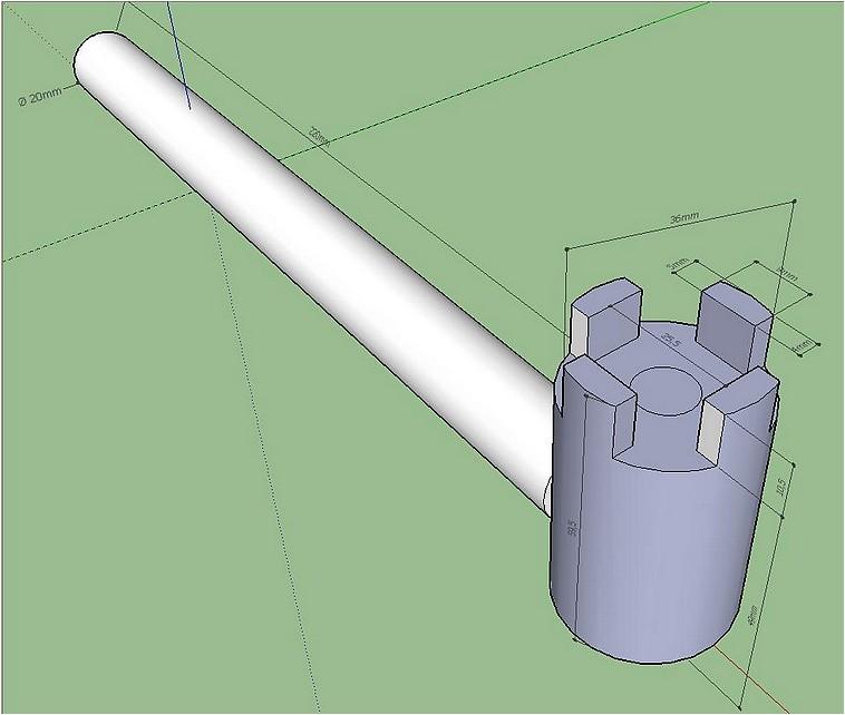 une cl de serrage pour fers de r d. Black Bedroom Furniture Sets. Home Design Ideas
