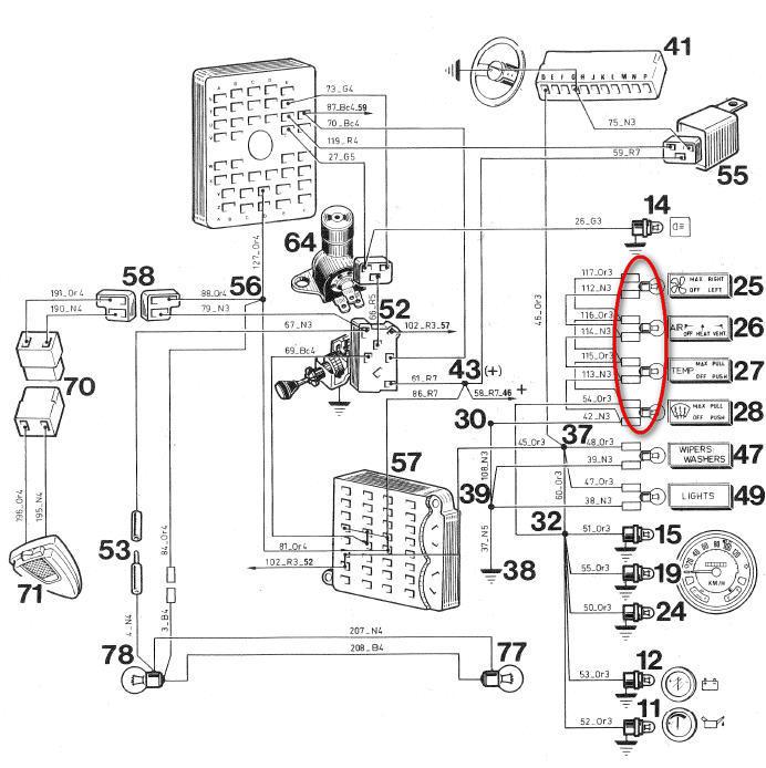 tuto  faisceau cj7 diesel  tableau de bord
