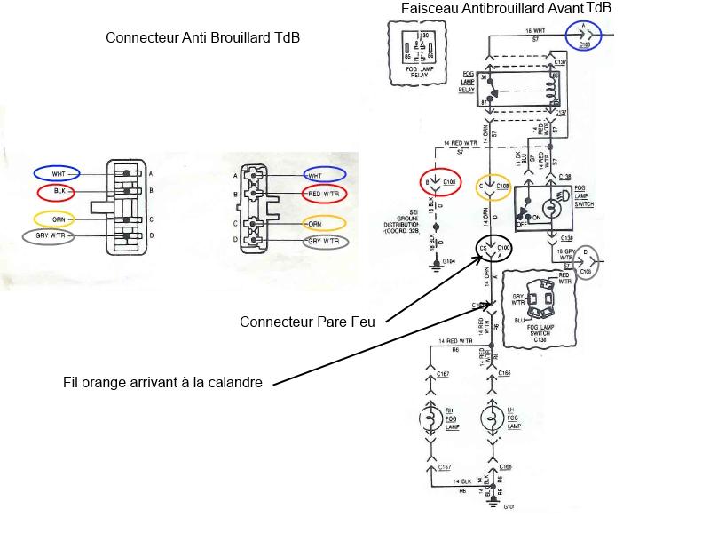 help   connecteur de phare cj7