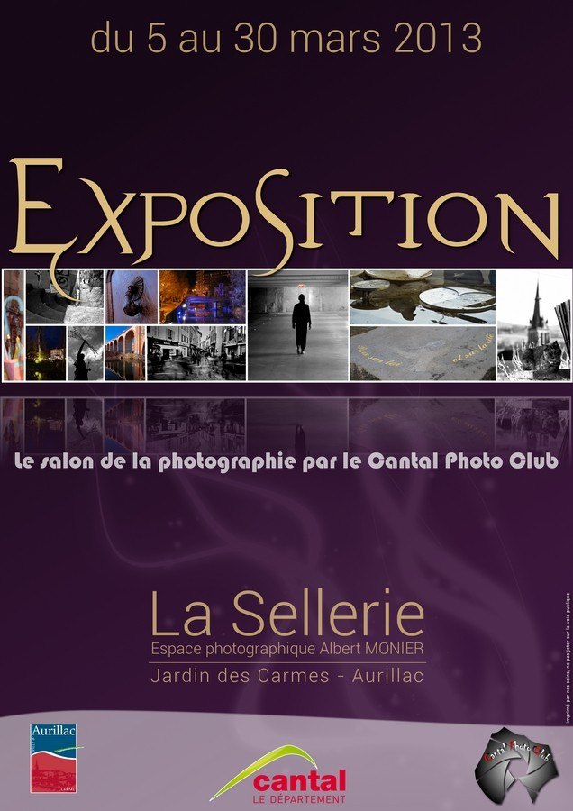 affiche salon photo aurillac