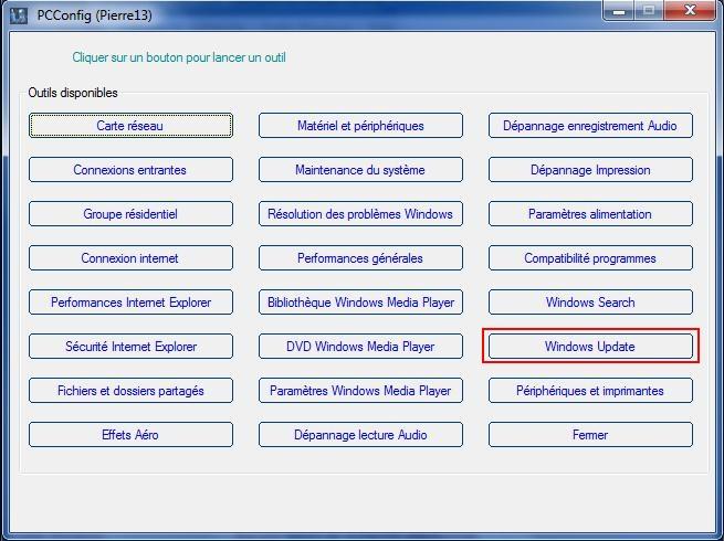 Forum windows 7 et windows 8 for Fenetre windows outils