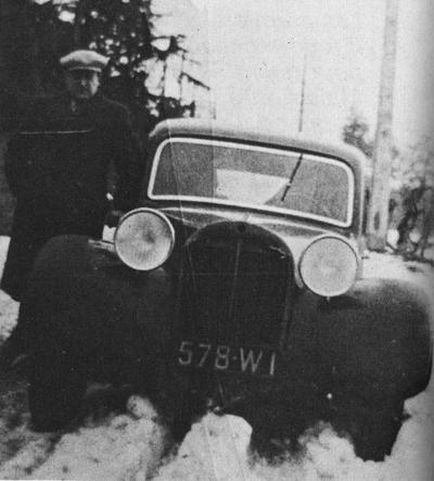 citro n prototype de traction 1934 qui n 39 a jamais vu le jour. Black Bedroom Furniture Sets. Home Design Ideas