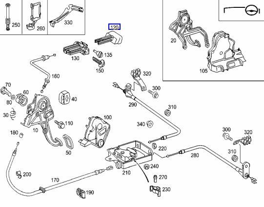 o se trouve le contacteur du frein d 39 immobilisation p dale cdi coupe sport. Black Bedroom Furniture Sets. Home Design Ideas