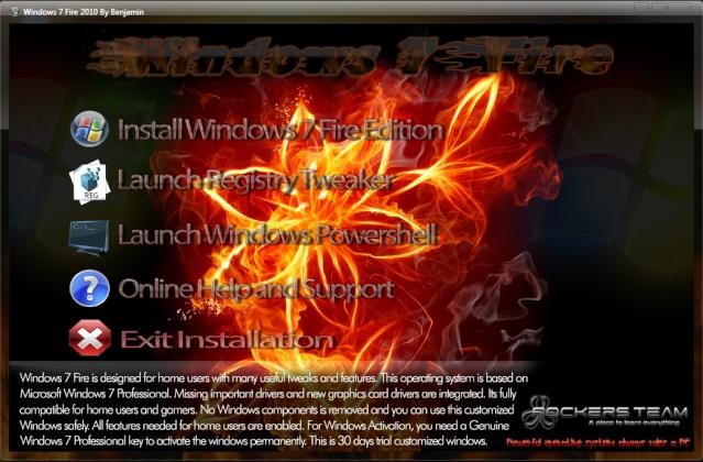 حصريا شبكه الكعبه Windows Fire