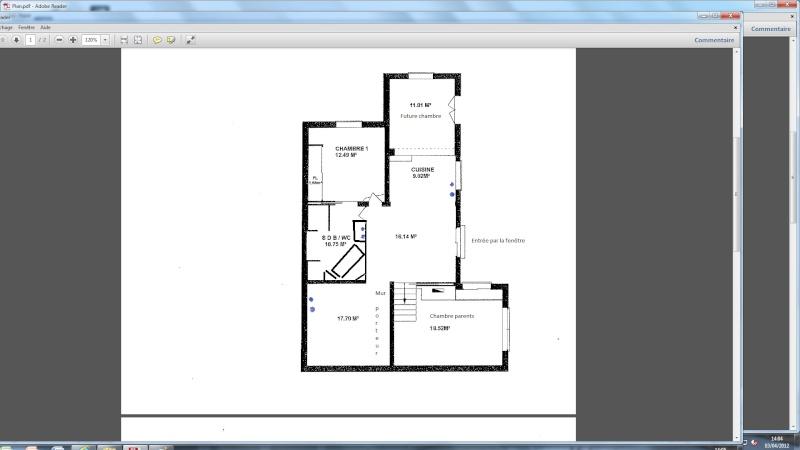 plan appartement atypique