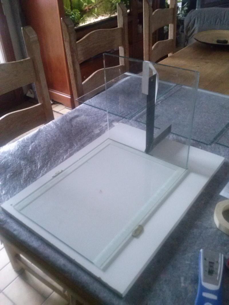 D coupe de verre et fabrication d 39 un nano pour rili for Decoupe verre brico