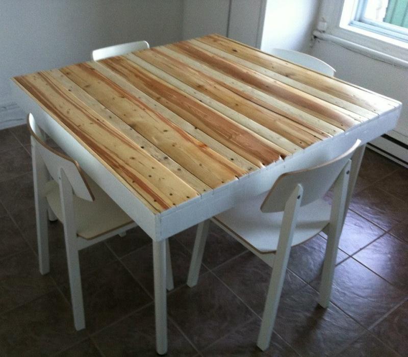 Bois de r cup et fabrication de meubles - Fabrication de meuble en bois ...