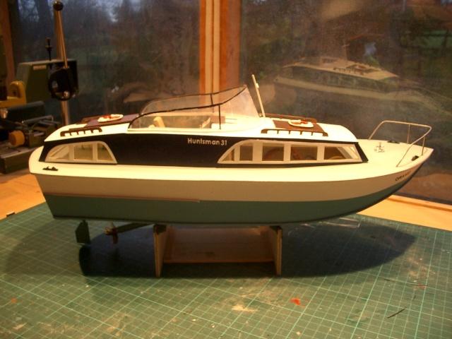 NY NC: Access Huntsman model boat plans