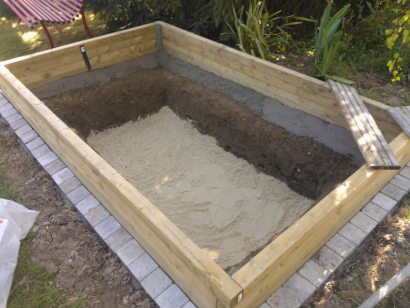 Bassin de jardin hors sol construction bassin de jardin for Construction piscine 76