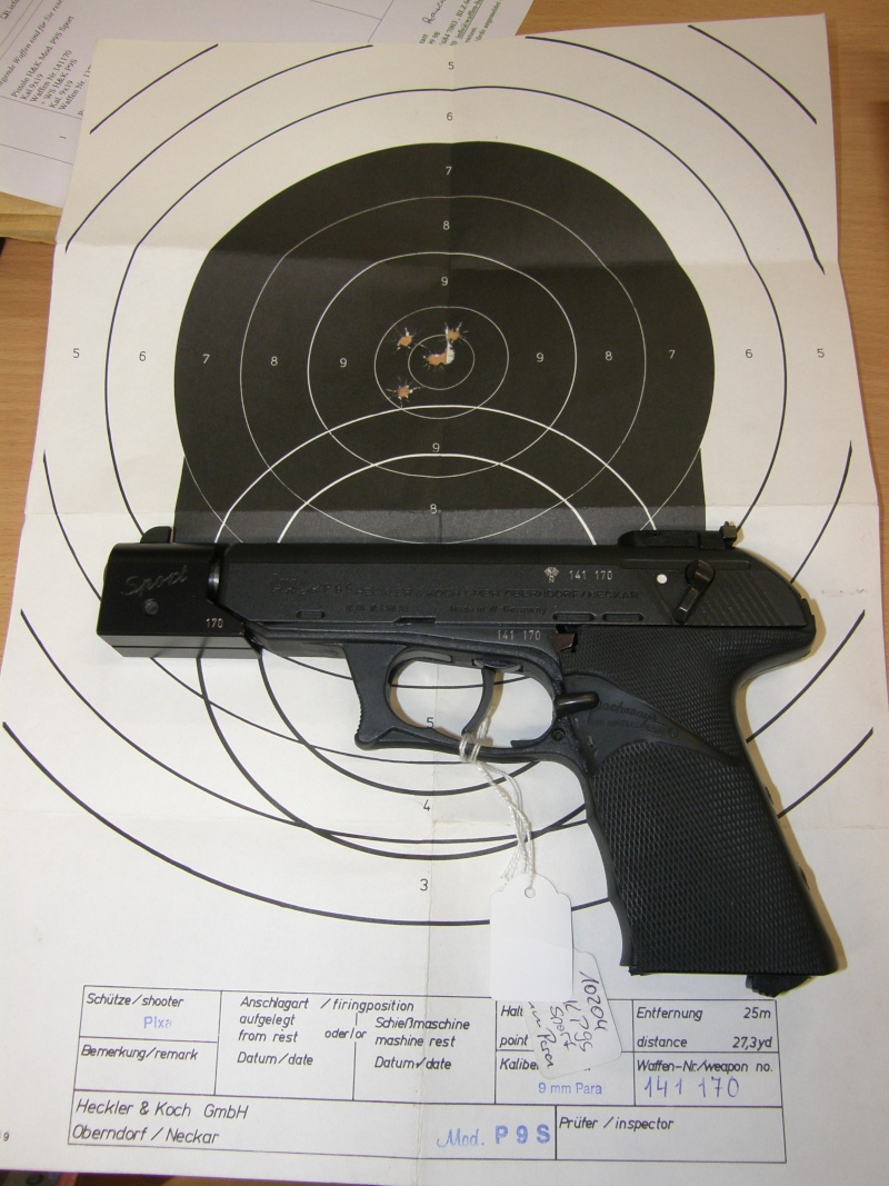 cible gong 9 mm