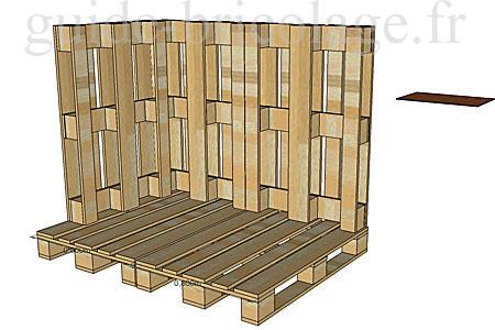 faire une cabane a poules ou pour enfants en palettes. Black Bedroom Furniture Sets. Home Design Ideas