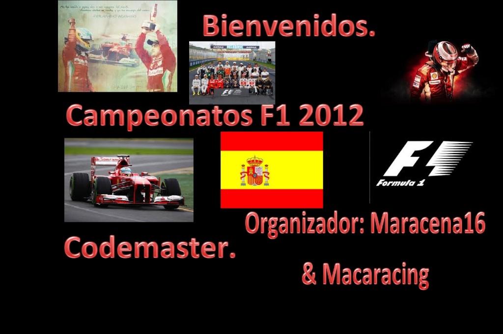 Campeonatos formula 1 2012