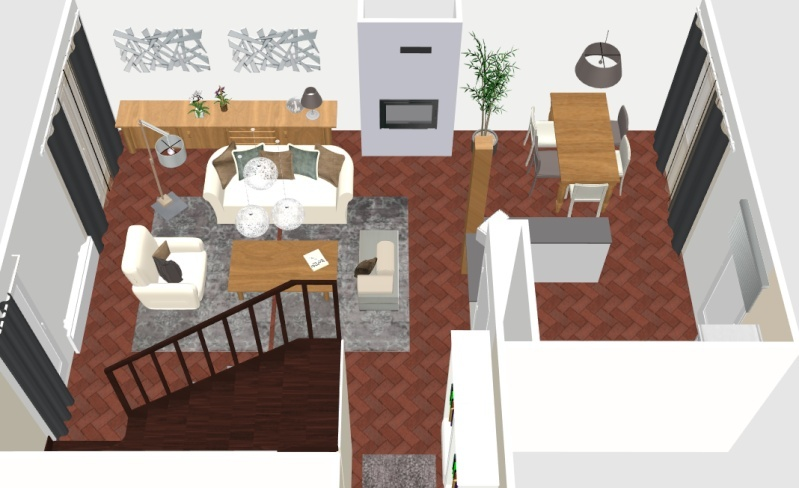 couleur mur salle a manger. Black Bedroom Furniture Sets. Home Design Ideas