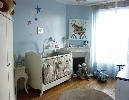 conseils pour les couleurs d 39 une chambre b b. Black Bedroom Furniture Sets. Home Design Ideas