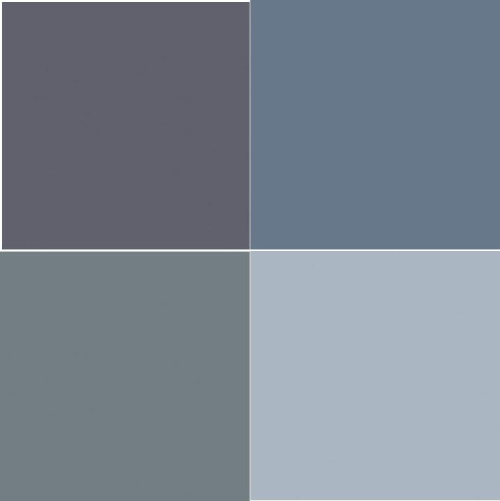 Chambre bleu orage design de maison for Peinture murale couleur bleu gris