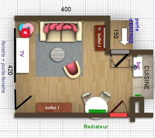Salon nouvelle d co p12 cadres et miroirs petit mur for Disposition salon