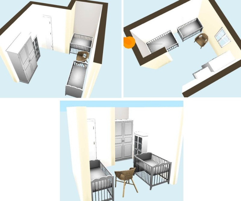 organiser une petite chambre pour deux au mieux page 2. Black Bedroom Furniture Sets. Home Design Ideas
