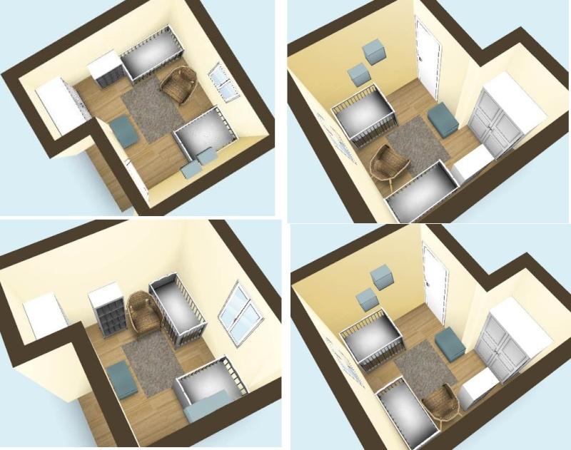 Organiser une petite chambre pour deux au mieux page 3 - Meuble pour piece mansardee ...