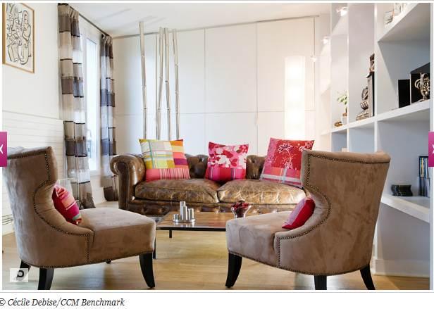 Salon nouvelle d co p12 cadres et miroirs petit mur - La maison du radiateur ...