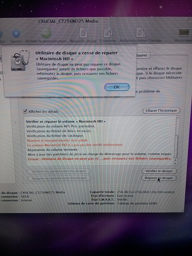 r studio mac installer le disque