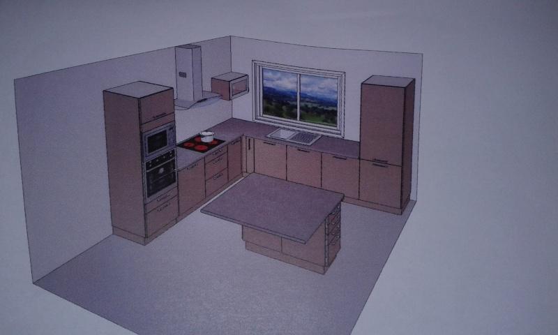 quelles couleur pour ma cuisine ouverte et mon salon. Black Bedroom Furniture Sets. Home Design Ideas