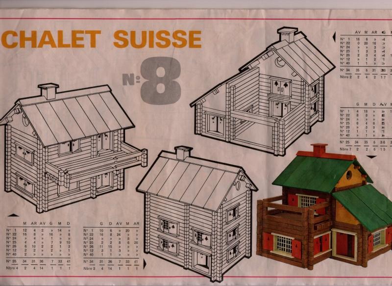 plan maison en bois jeujura