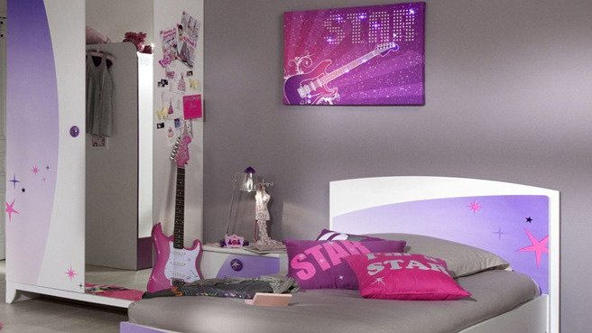 Chambre d 39 une fille de 14ans - Faire de la tapisserie ...