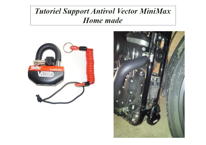 tuto support antivol vector minimax home made. Black Bedroom Furniture Sets. Home Design Ideas