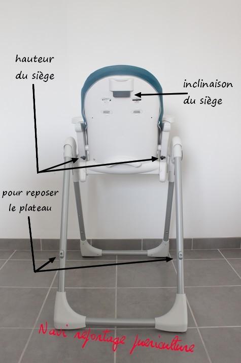 Reportage photos chaise haute peg perego prima pappa zero3 - Harnais chaise haute peg perego ...